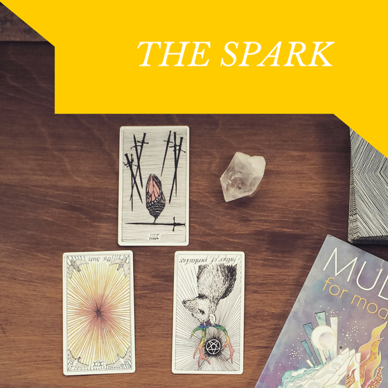 Image of The Spark Three-Card Reading
