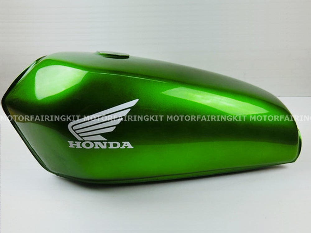 Build A Honda >> Cafe Racer Honda CG125 / CB125 Fuel Tank/ Plain Green | Motor Fairing Kit