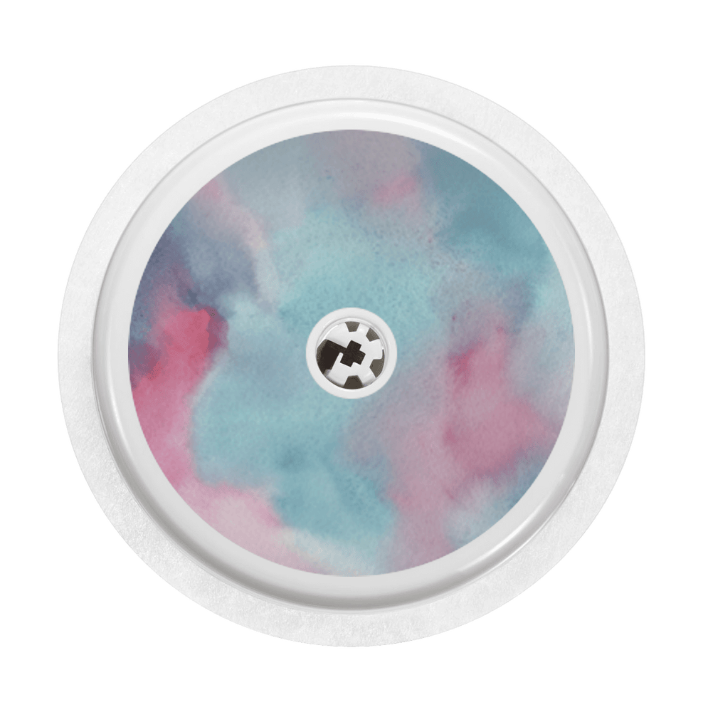 Image of Watercolor Freestyle Libre Sticker