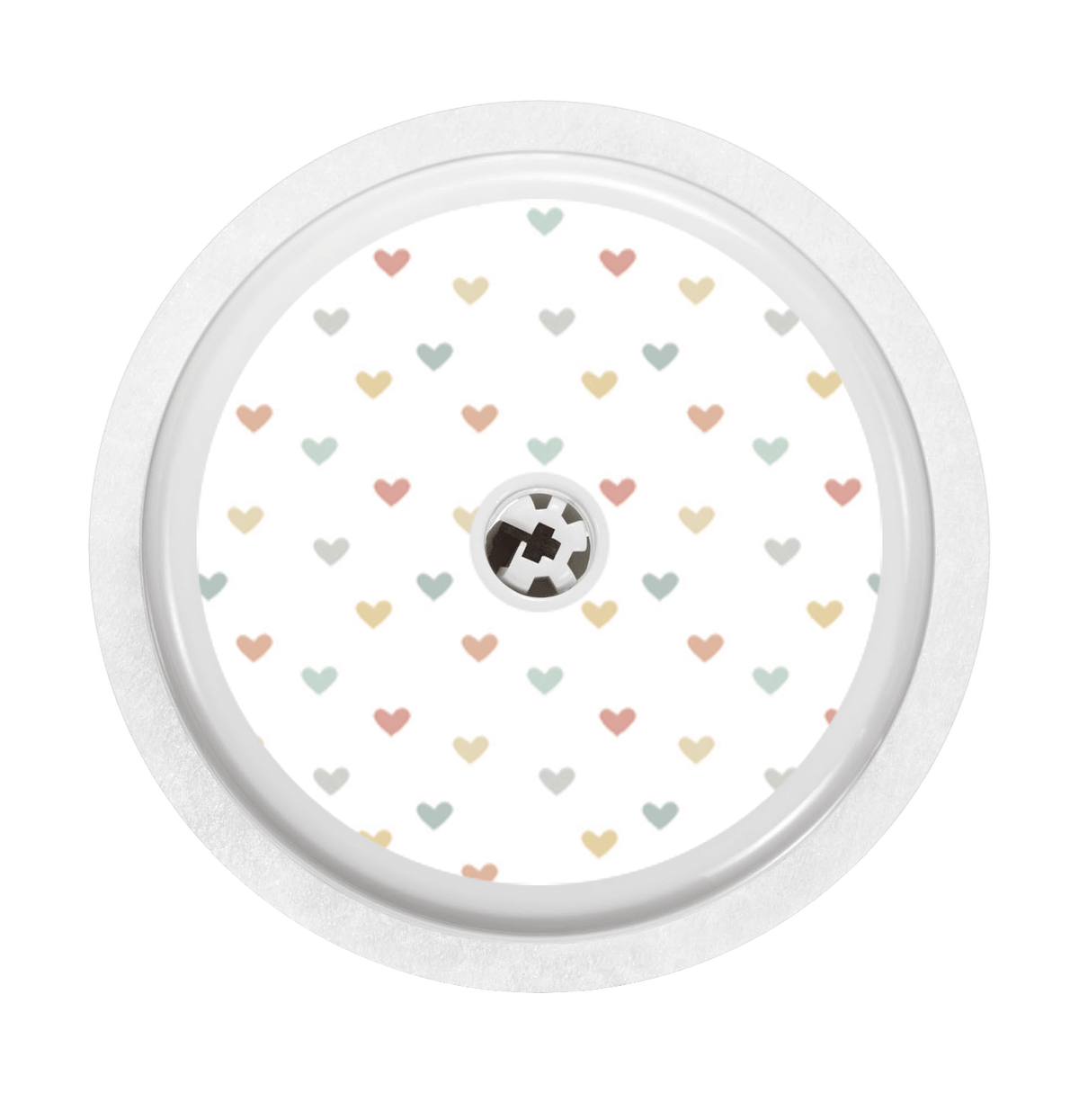 Image of Hearts Freestyle Libre Sticker