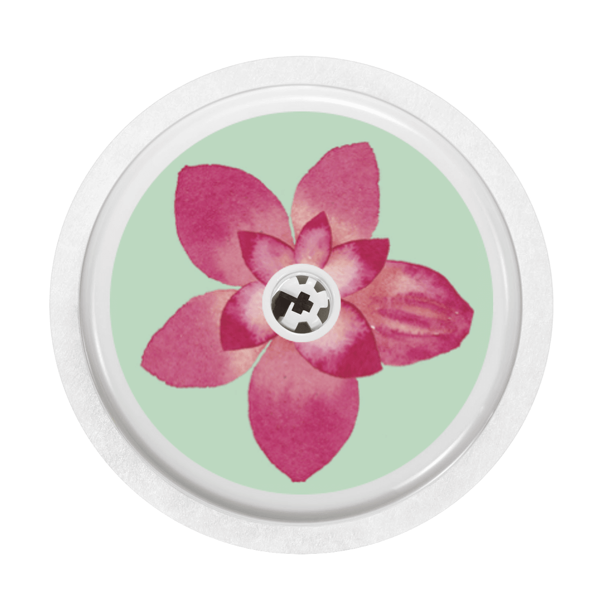Image of Flower Freestyle Libre Sticker
