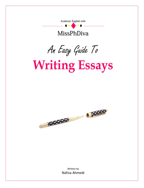 Image of 'An Easy Guide To Writing Essays' - SIGNED copy paperback book