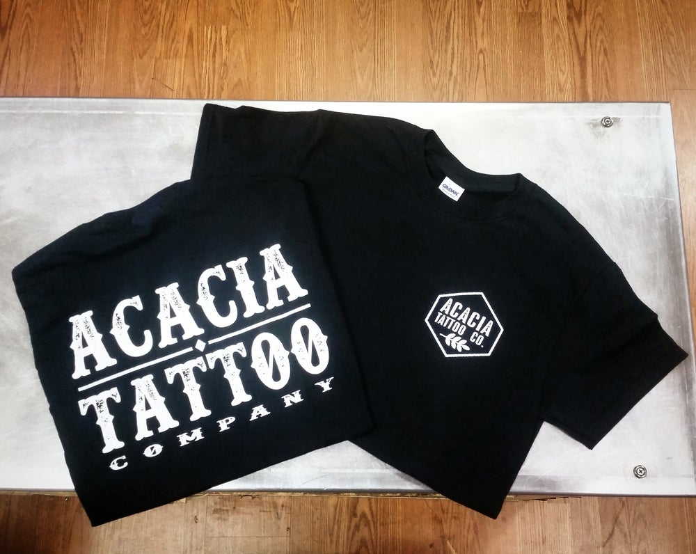 Image of Acacia Tattoo Company tshirts