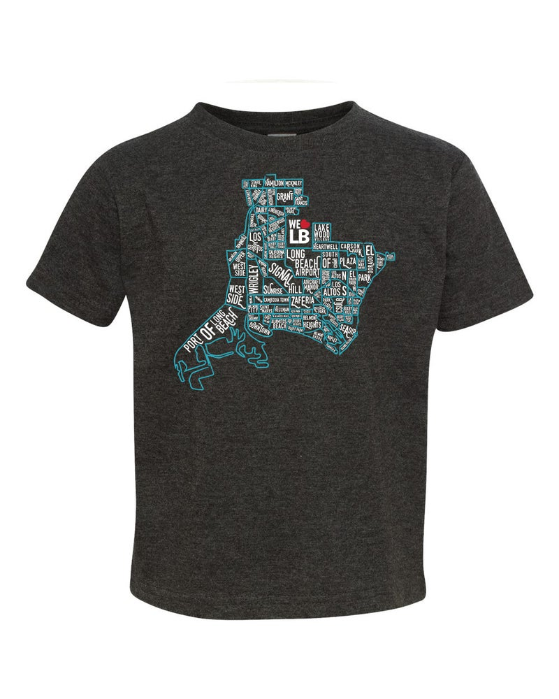 Image of Neighborhood Map Toddler Tee