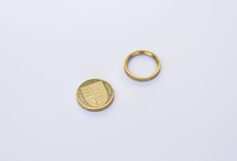 Image of Crown Jewels UK - Pound Coin Ring