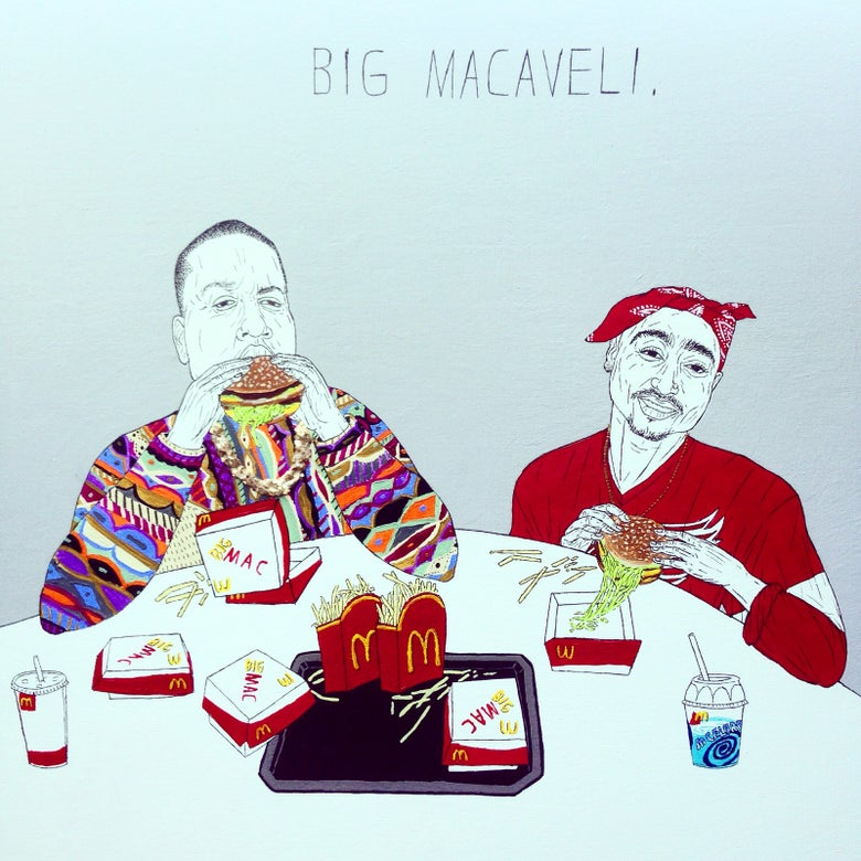 Image of big macaveli