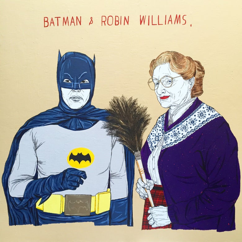 Image of batman and robin williams