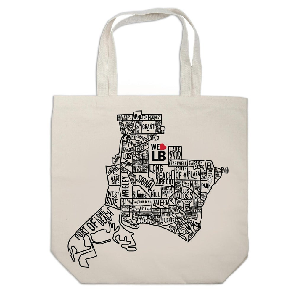 Image of Neighborhood Map Tote