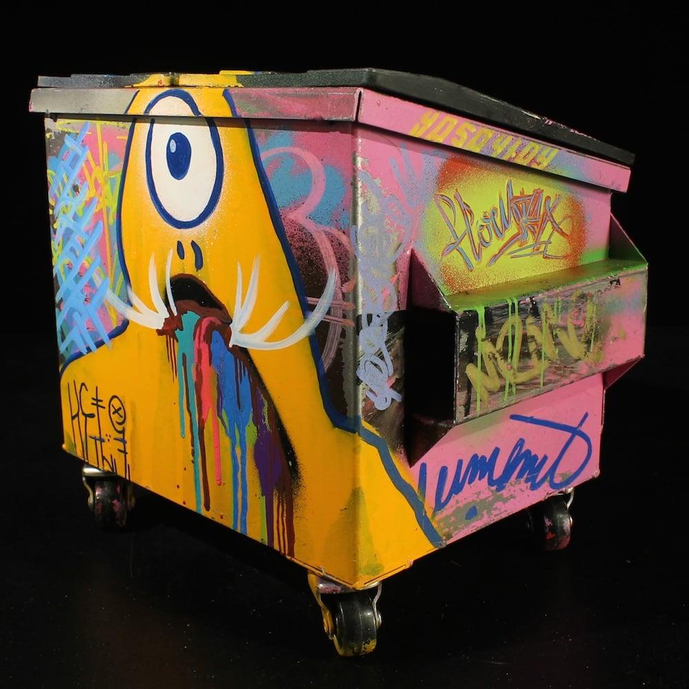 Image of Miss Pink Desktop Dumpster