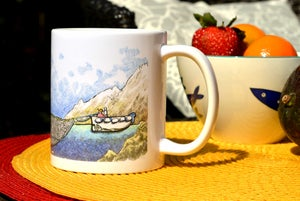 Image of Wrap-Around Setting Seiner Mug