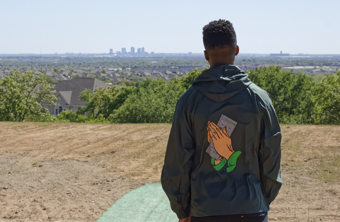 Image of Prayer Windbreaker
