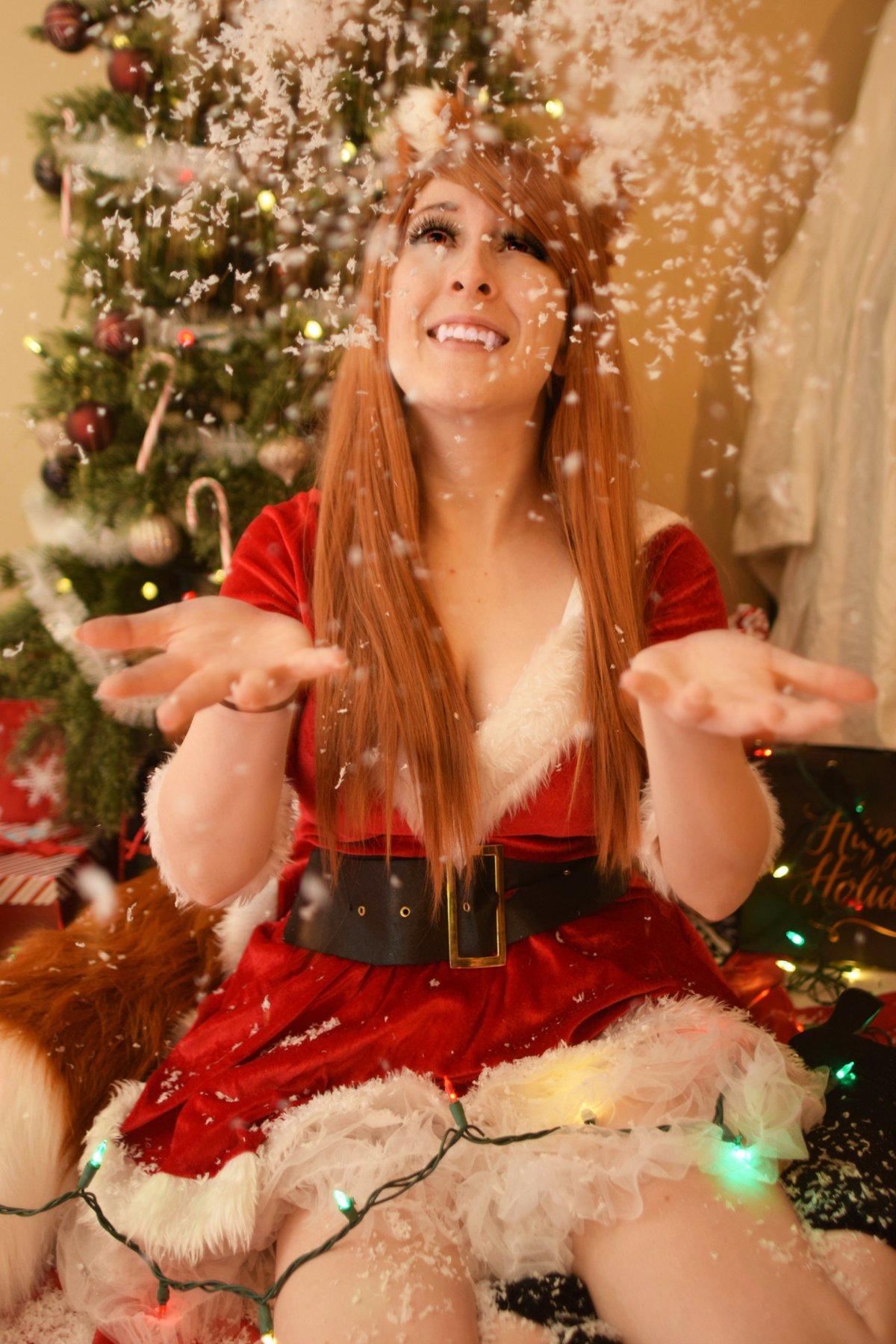 Image of Christmas Holo Photoset