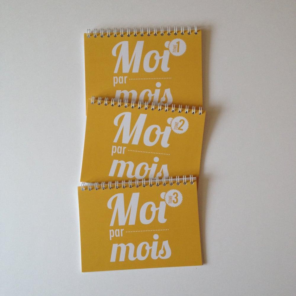 Image of Moi par mois - Trio tomes 1, 2 & 3 - De 1 mois à 3 ans