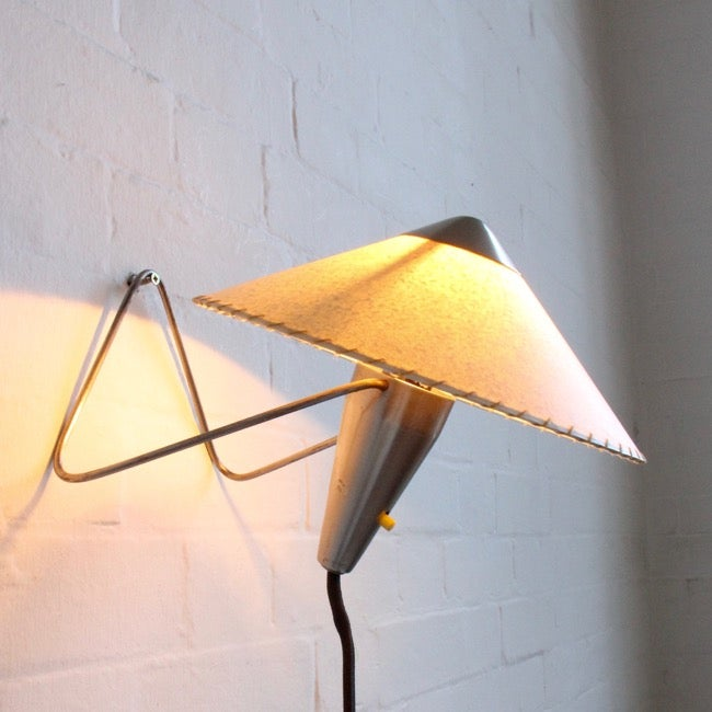 Image of  Nickel table/wall lamps by Helena Frantova