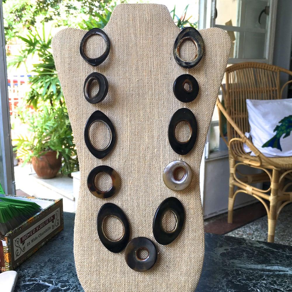 Image of Havana Horn Necklaces