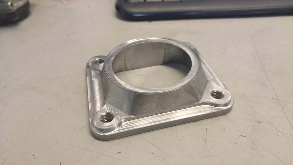 "Image of Lpsfab T4 to 2.5"" pipe transition flange"