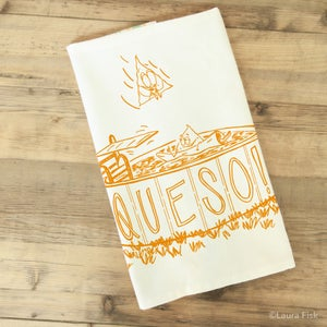 Image of Queso Tea Towel
