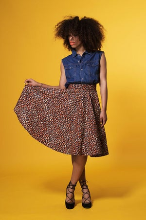Image of **** COCOA POD ROUND SKIRT ****
