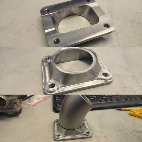"""Image of Lpsfab T4 to 2.5"""" pipe transition flange"""