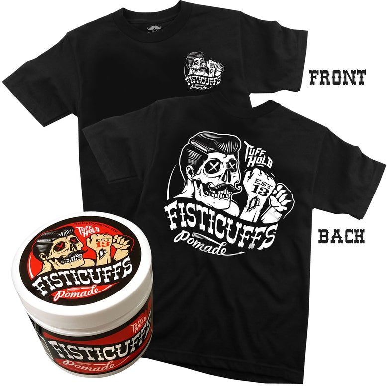 """Image of Fisticuffs™ """"TUFF HOLD"""" Pomade/Shirt Combo"""