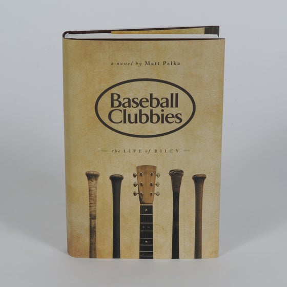 Image of Baseball Clubbies Hardcover Book