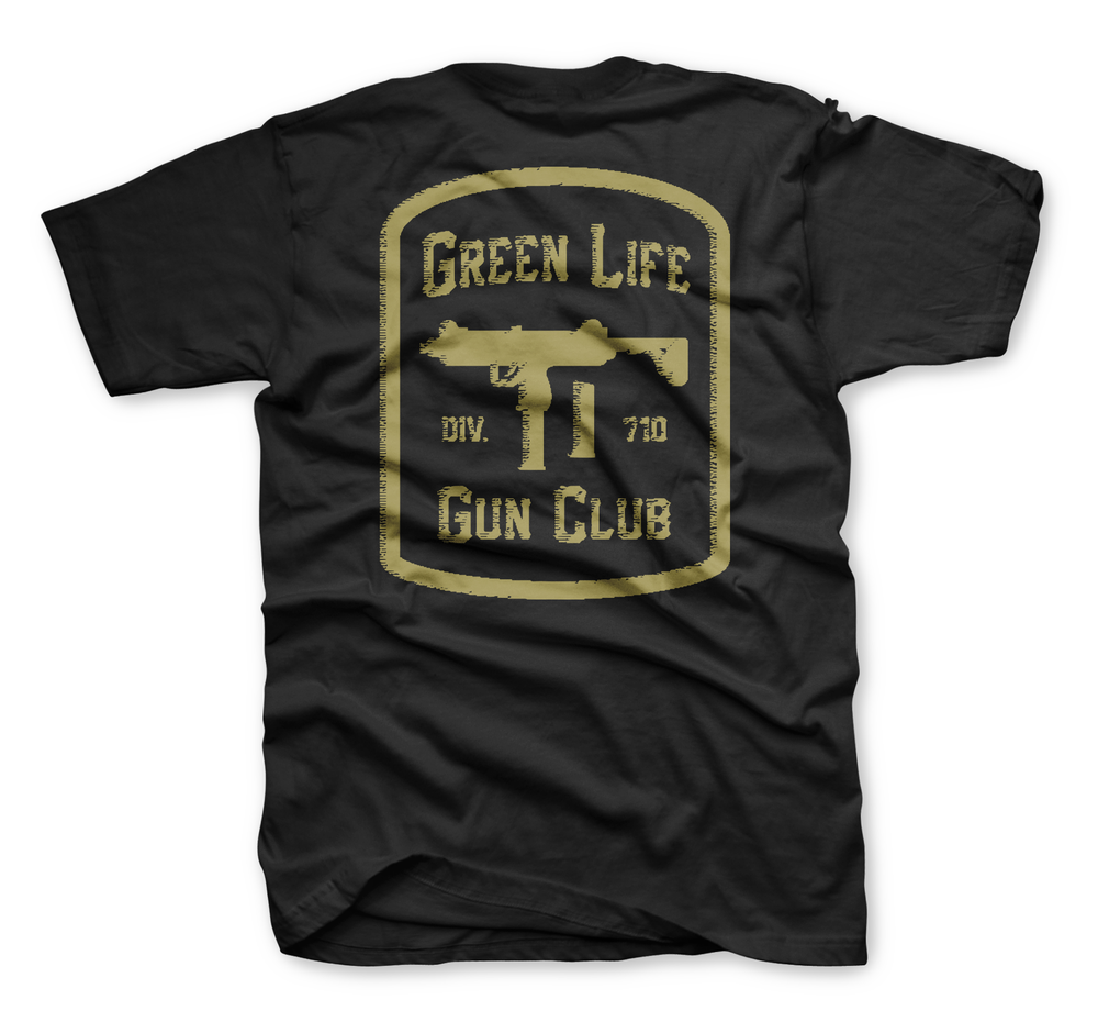 Image of The Gun Club Tee in Black