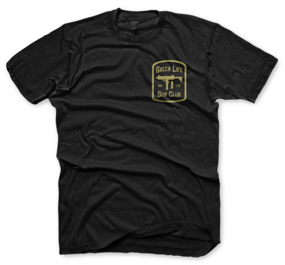 Image of The Gun Club Tee in Black