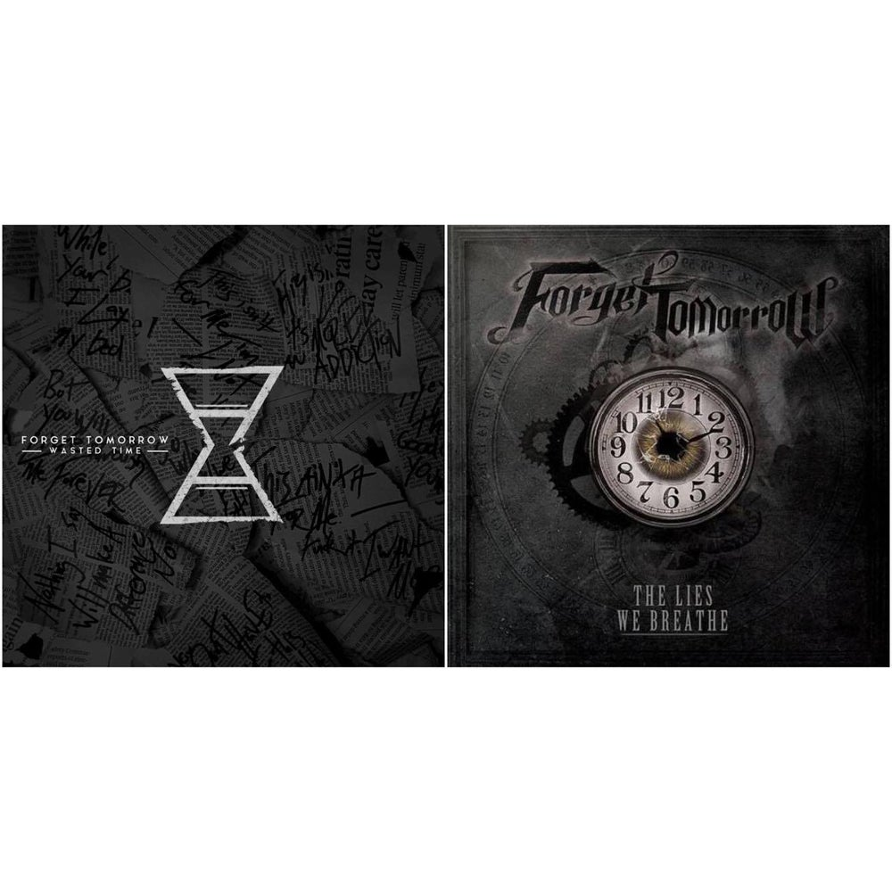 "Image of ""Wasted Time"" EP & ""The Lies We Breathe"" Album - $7/$5"