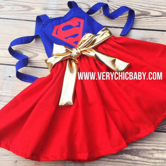 Image of Supergirl Dress