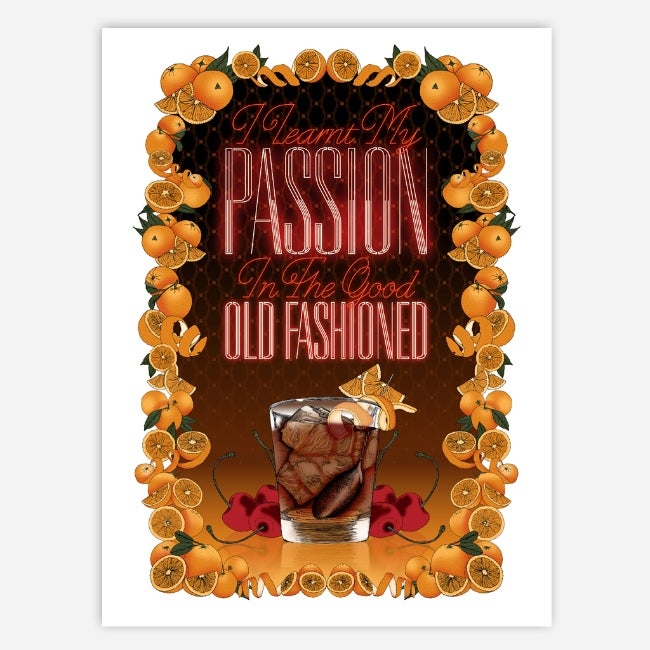 Image of ALL PASSION 50X70CM