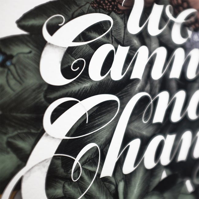 Image of WE CANNOT NOT CHANGE