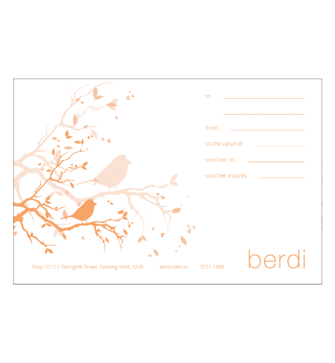 Image of gift voucher
