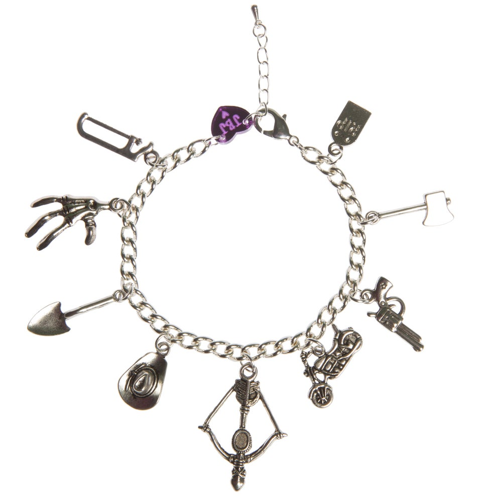 Image of The Walking Dead Charm Bracelet