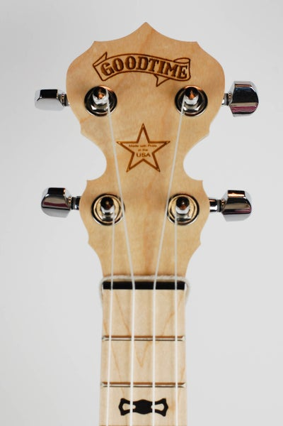 Image of Deering Goodtime Concert Banjo Ukulele (CASE & ARMREST INCLUDED)