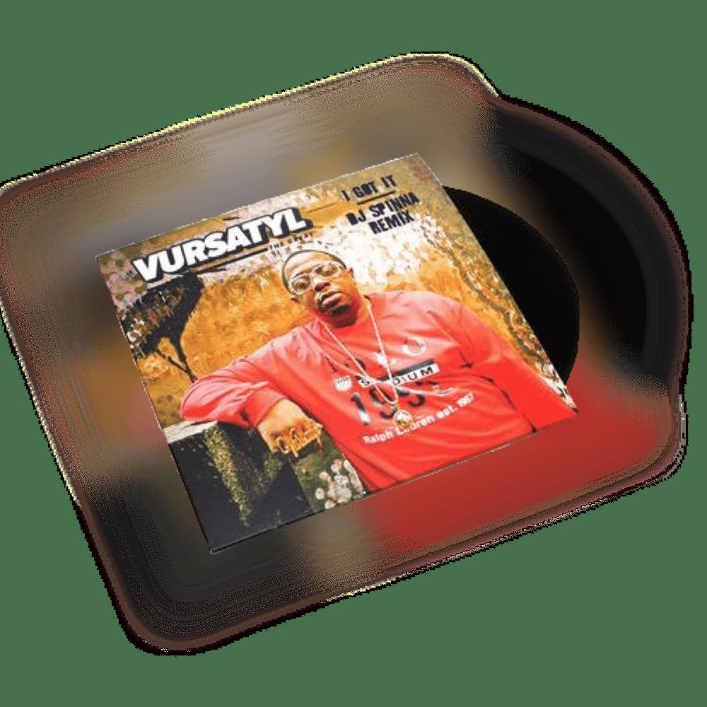 "Image of VURSATYL 7"" Inch / 45 Single I Got It (DJ Spinna Remix) & Bring It To A Halt (Jake One Remix)"