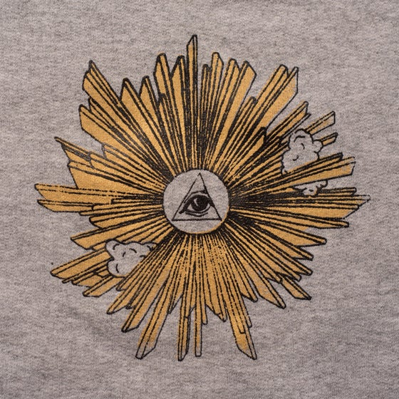 Image of EYE OF PROVIDENCE HEATHER CREWNECK
