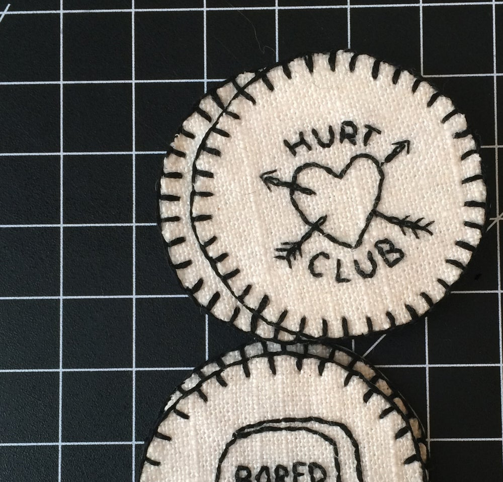 Image of HURT CLUB PATCH