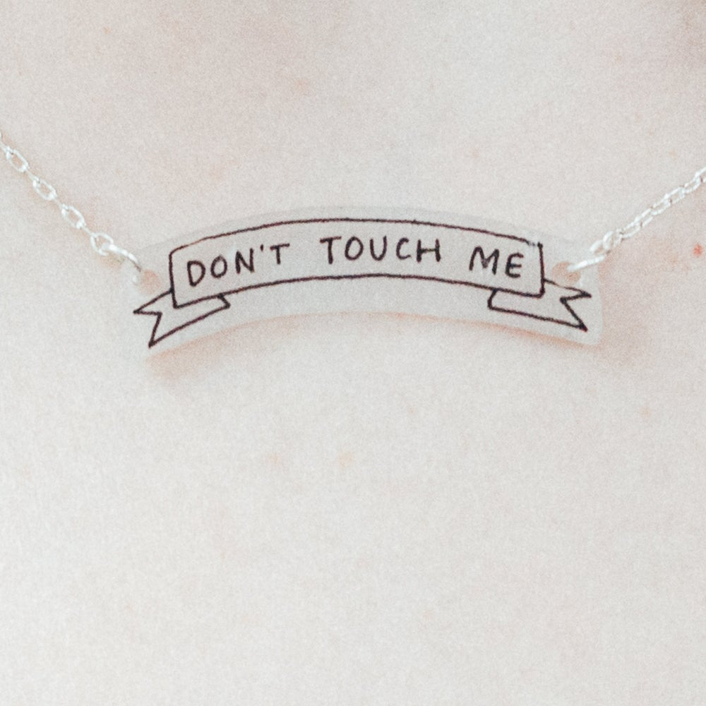 Image of DON'T TOUCH ME NECKLACE