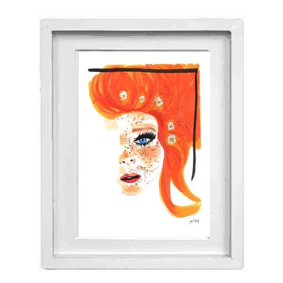 Image of Orange Girl