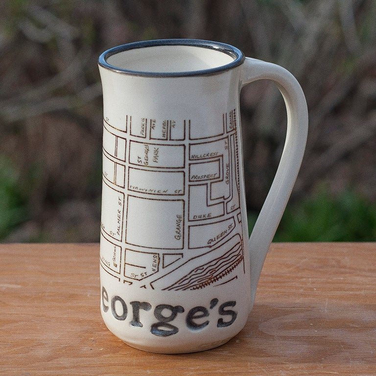 Image of Guelph Inspired 'St. George's' Park Mug by Bunny Safari