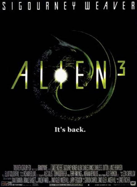 Image of Alien3 Poster Queen Alien Embryo