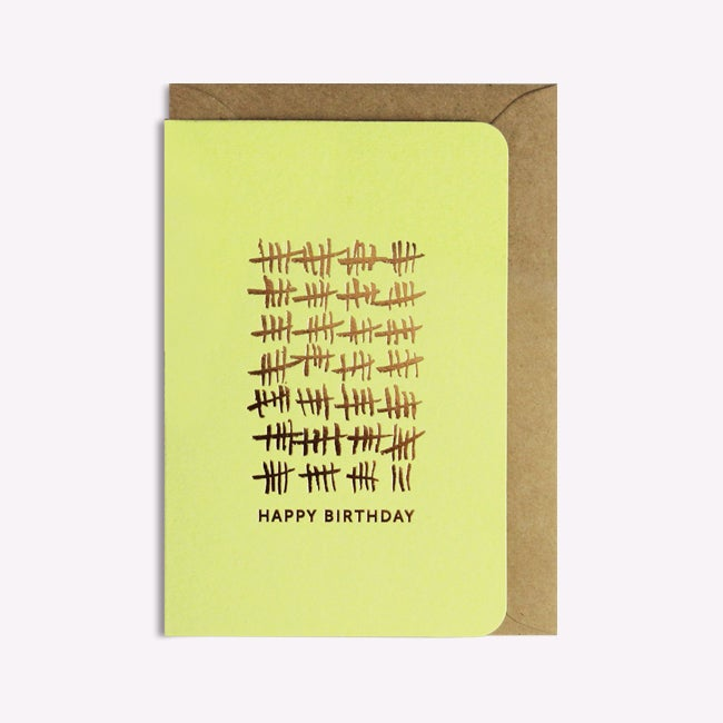 Image of Carte Happy Birthday