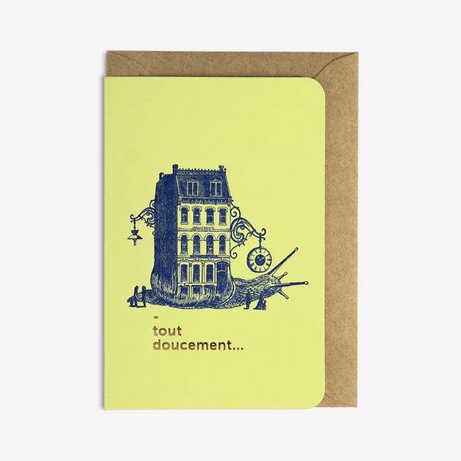 Image of Carte Tout Doucement