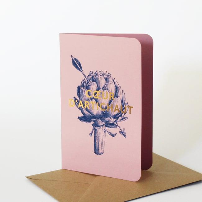 Image of Carte Coeur d'artichaut