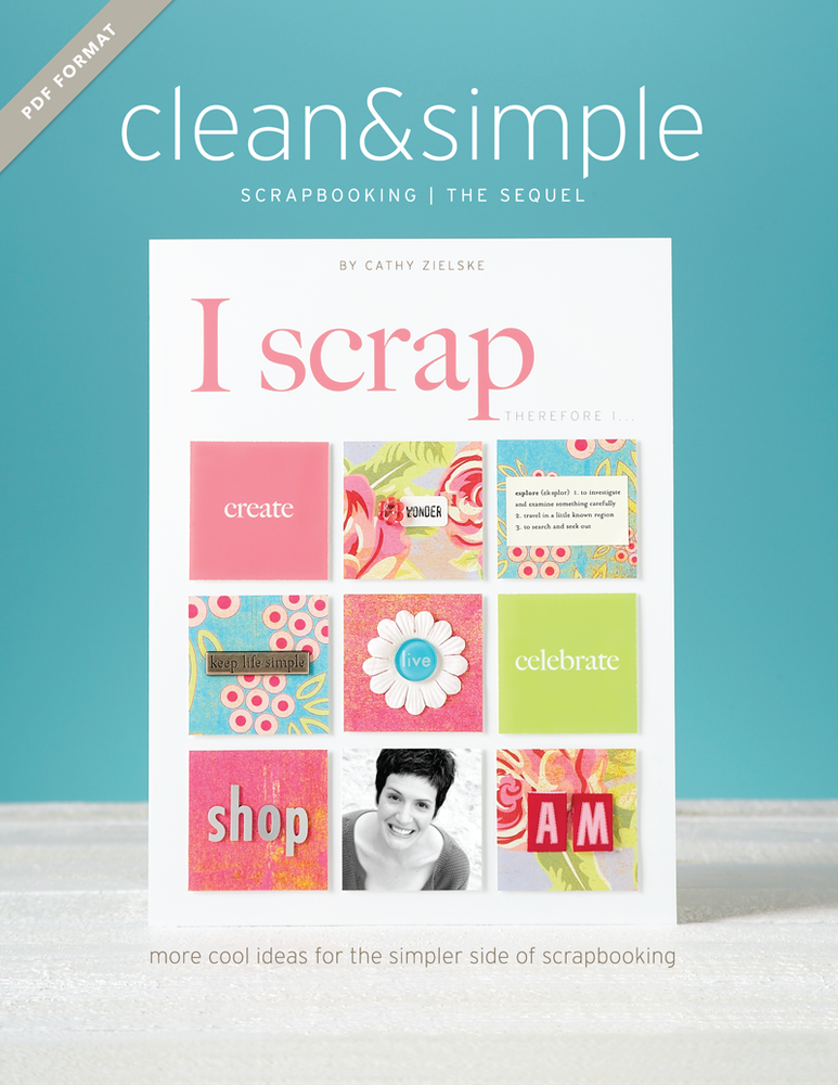 Image of PDF Book: Clean & Simple Scrapbooking: The Sequel