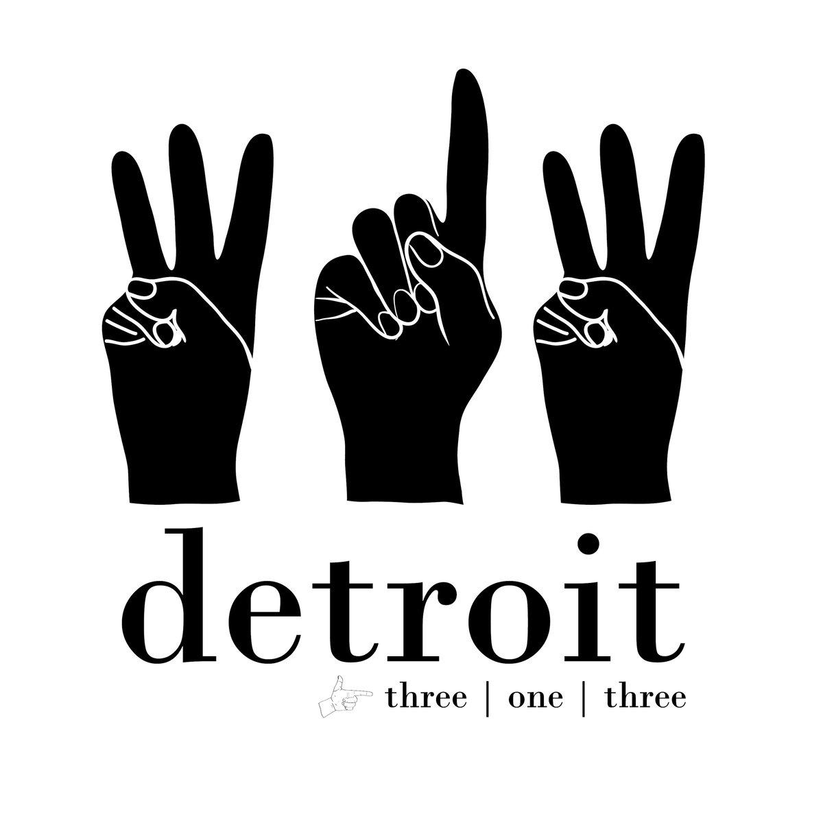 Detroit 313 Print