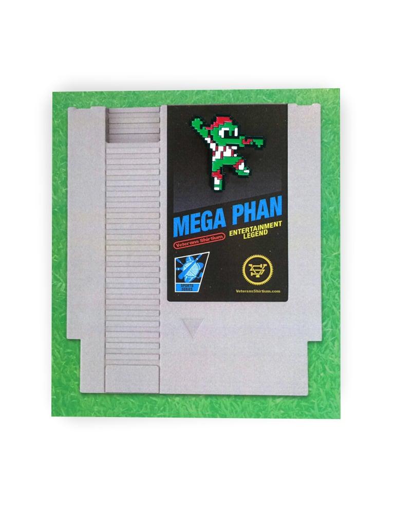 Image of Mega Phan T-Shirt & Pin Combo Pack