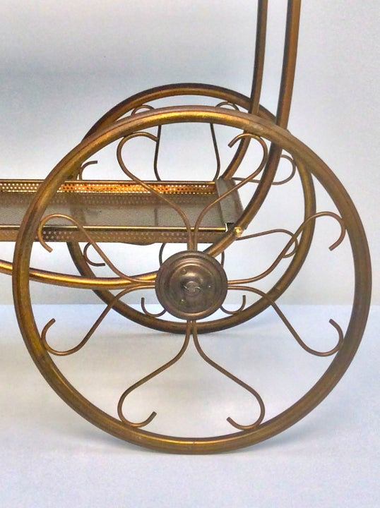 Image of Brass Cart by Svenskt Tenn, Sweden