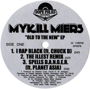 "Image of MYKILL MIERS ""OLD TO THE NEW"" EP"