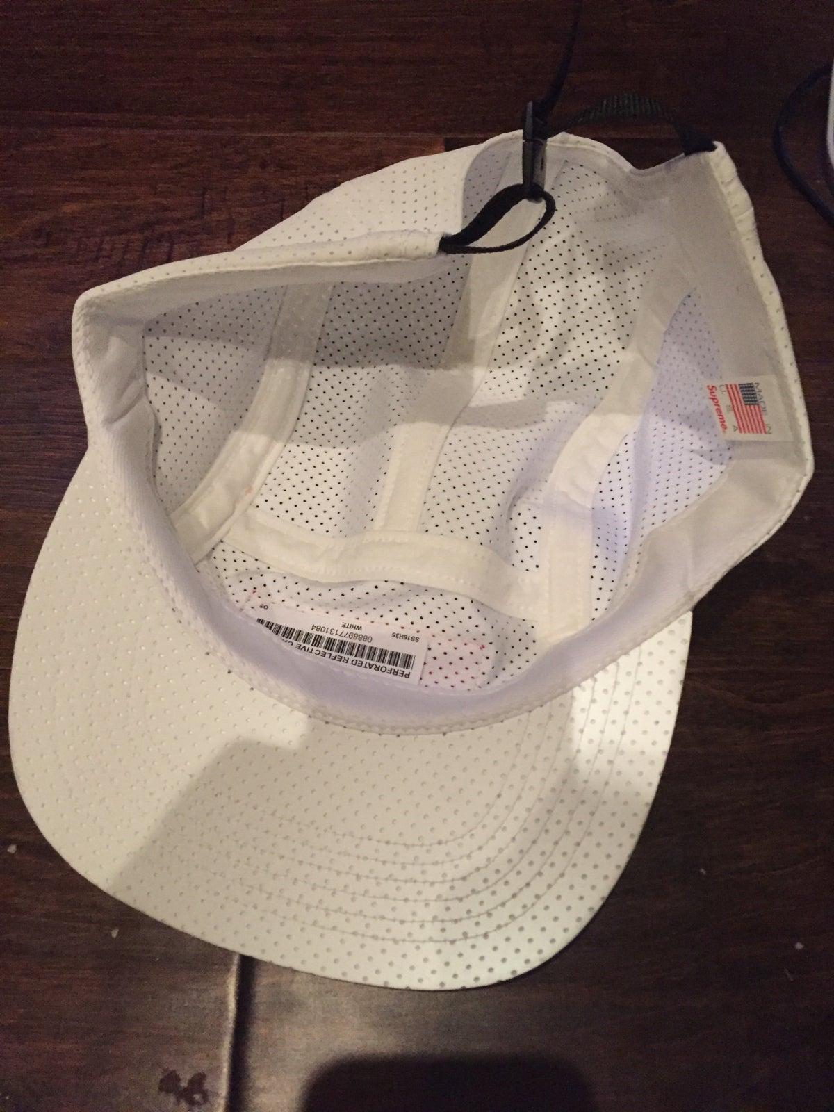 Image of Supreme Reflective Camp Hat
